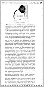 band-assemblee_Review_USA_NY_CtyJazzRecordJazz